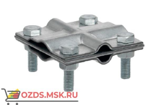EZETEK 90540-2 Зажим заземления полоса/пруток: полоса/пруток крестообразный, оцинк.