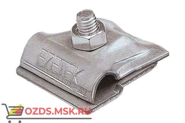 EZETEK 91092 Держатель проводника круглого 6-10 мм для фальца 0.7-3 мм, оцинк.