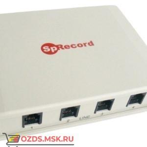 SpRecord AТ4 Комплекс записи телефонных переговоров