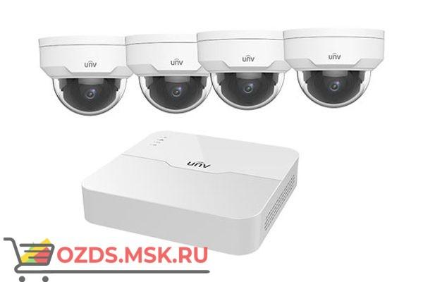 UNIVIEW KIT/301-04LB-P4/4х322LR3-VSPF28-D: Комплект видеонаблюдения