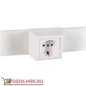 Суппорт с рамкой 1 пост (45х45) на профиль для кабель-канала 60х16 060007S 10шт/уп SPL