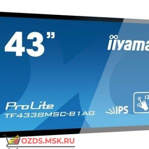 Iiyama TF4338MSC-B1AG: Интерактивная панель