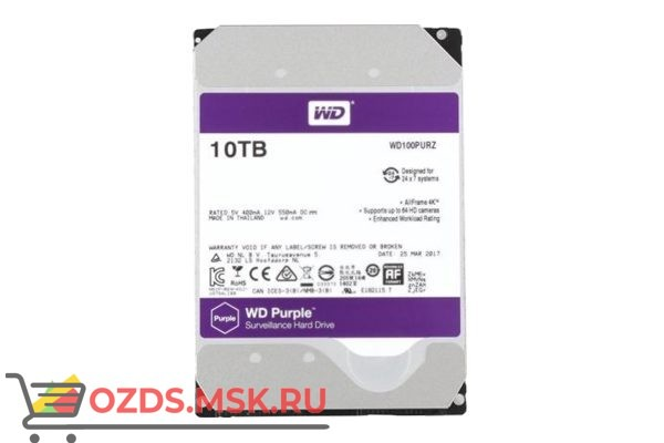 Western Digital WD100PURZ HDD 10TB: Жесткий диск