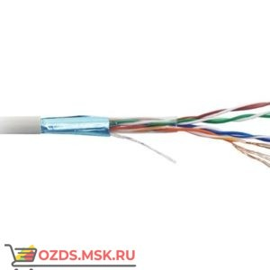 Hyperline FUTP4-C5E-P26-IN-LSZH-GY-100: Кабель