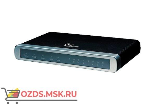 Шлюз VoiceIP Grandstream GXW-4008 8xFXS, 2xEth, SIP, БП