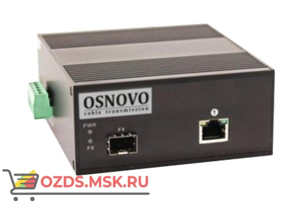 Osnovo OMC-1000-11HX/I: Медиаконвертер