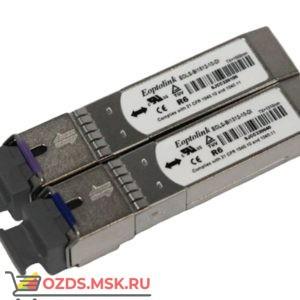 TFortis SFP-модуль оптический10 км (в комплекте 2шт)