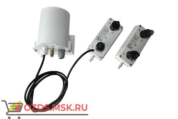 Импульс-мини 1/250П. (с): Извещатель проводно-волновой периметральный однофланговый