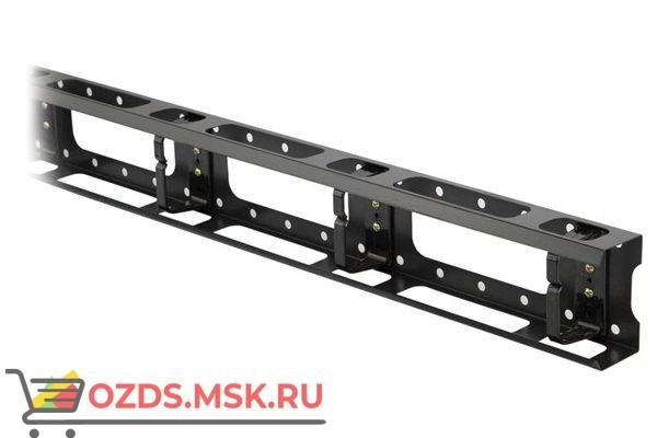 Hyperline CMV-42U-ML Металлический кабельный организатор с крышкой