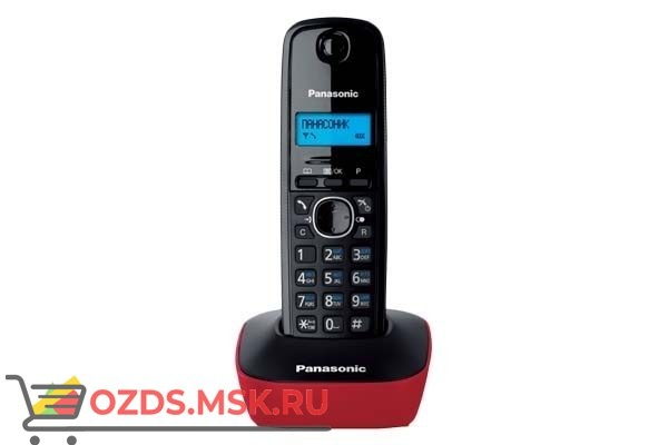 Panasonic KX-TG1611RUR: Радиотелефон
