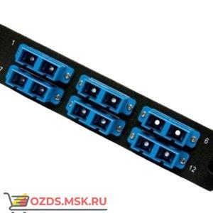 Hyperline FO-FPM-W120H32-12LC-BL Панель