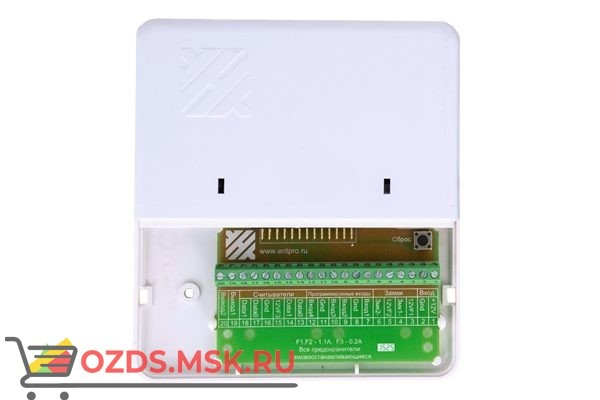 ЭРА-500: Сетевой контроллер, подключение по сети Ethernet, 500 ключей/30000 событий