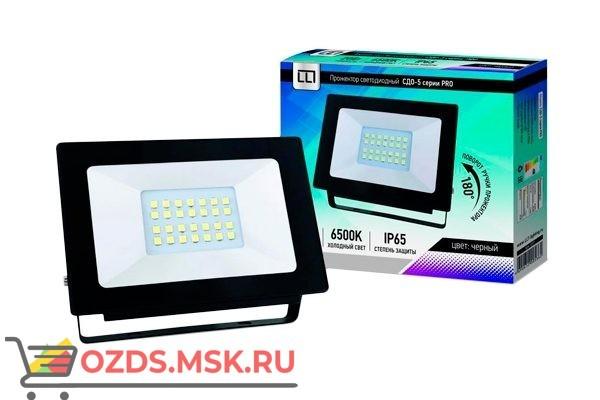 СДО-5-20 серии PRO Прожектор светод.20Вт 230В 6500К 1500Лм IP65