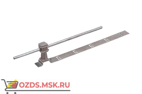 EZETEK 91037 Держатель проводника круглого 6-8 мм для черепичной кровли серый, оцинк.