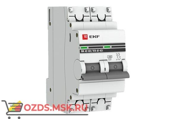 ЭКФ PROxima mcb4763-2-05C-pro Выкл.автомат. ВА 47-63 2P   5А (C) 4,5кА