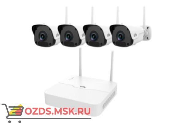 UNIVIEW KIT/NVR301-04LB-W/4х2122SR3-F40W-D Wi-Fi —: Комплект видеонаблюдения