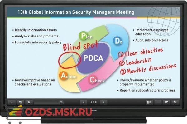 SHARP PN60TB3: Интерактивная панель