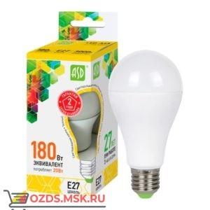 ASD LED-A60 20Вт Е27 3000К 1800Лм: Лампа
