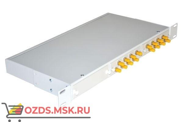 NTSS-RFOB-1U-16-ST-9-SPGС 19″: Кросс предсобранный