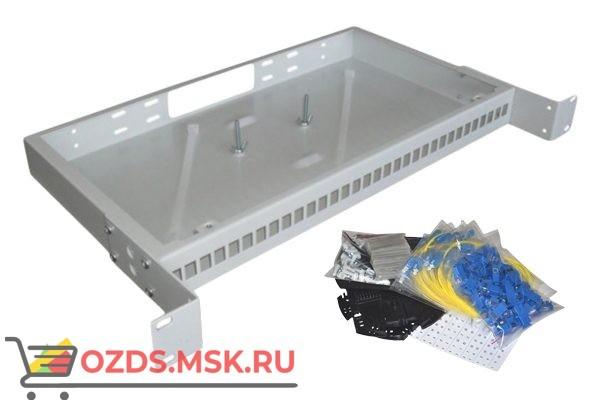 "NTSS-RFOB-1U-32-SC/U-9-SP 19"" Кросc предсобранный"