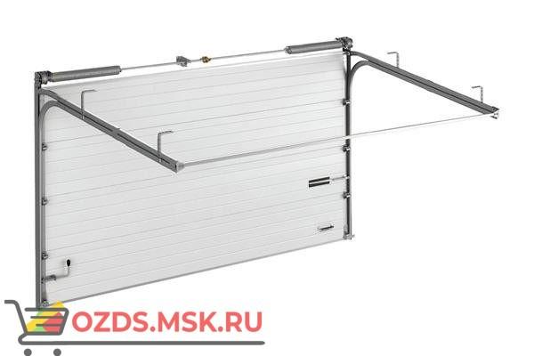 DoorHan ISD01 с калиткой (5000х4670): Ворота секционные