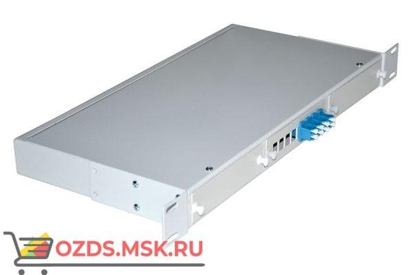 NTSS-RFOB-1U-4-2LC/U-9-SP 19″: Кросс предсобранный