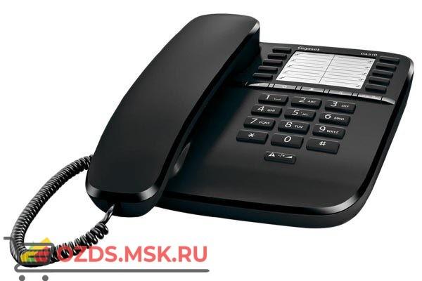 Siemens Gigaset DA 510 Телефон (черный)