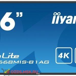 Iiyama TE8668MIS-B1AG: Интерактивная панель