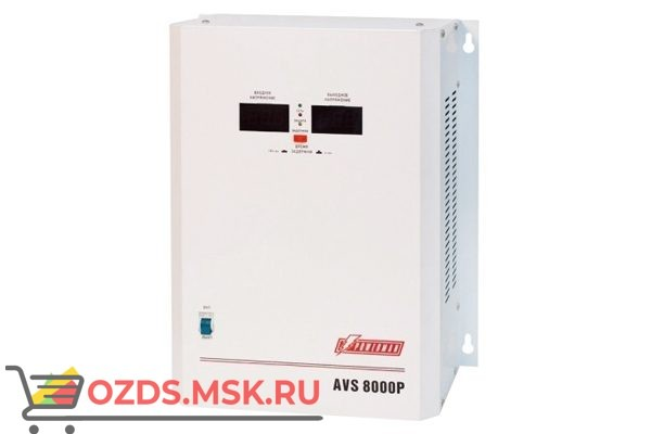 PowerMAN AVS-8000P: Стабилизатор напр.