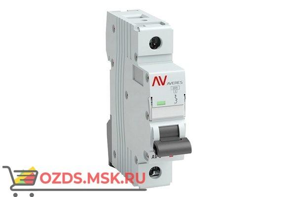 ЭКФ AVERES mcb6-1-10c-av Выкл.автомат.AV-6 1P 10A (C) 6kA