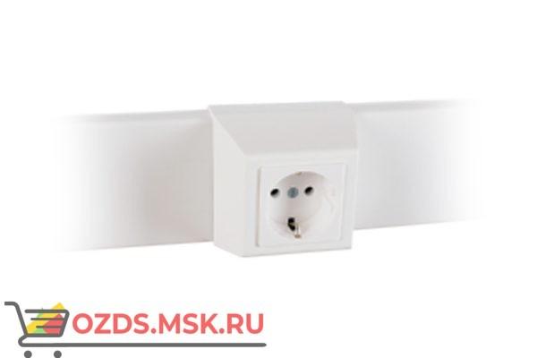 Суппорт с рамкой 1 пост (45х45) на профиль для кабель-канала 75х20 075007S 10шт/уп SLP