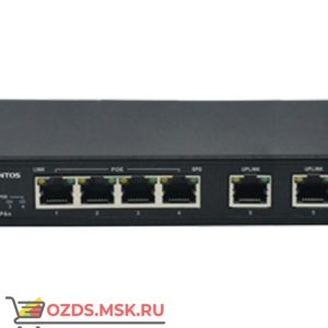 Tantos TSn-4P6C POE Ethernet коммутатор