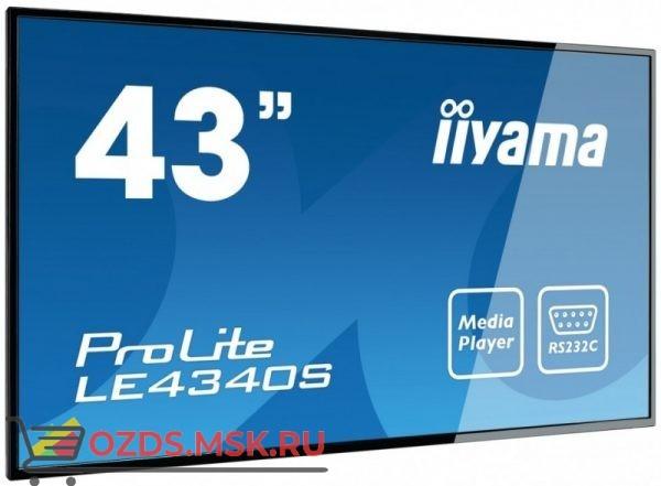 Iiyama LE4340S-B1: Профессиональная панель