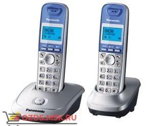 Panasonic KX-TG2512RUS, цвет серебристый металлик: Беспроводной телефон DECT (радиотелефон)