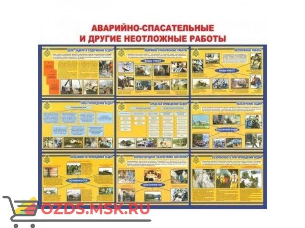 Аварийно-спасательные и другие неотложные работы: Плакат по безопасности