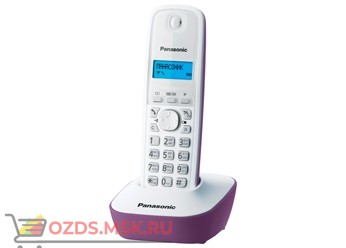 Panasonic KX-TG1611RUF-, цвет сиреневый: Беспроводной телефон DECT (радиотелефон)