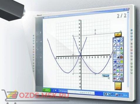 Интерактивная доска 60 IQBoard PS S060, резистивная технология, USB, RS232