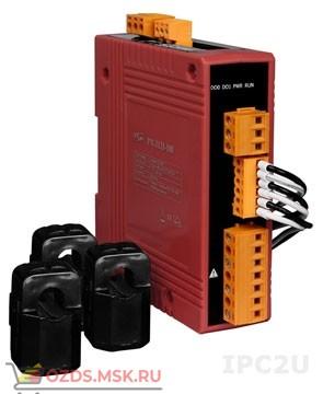 ICP DAS PM-3133P: 3-фазный компактный измеритель напряжения и тока