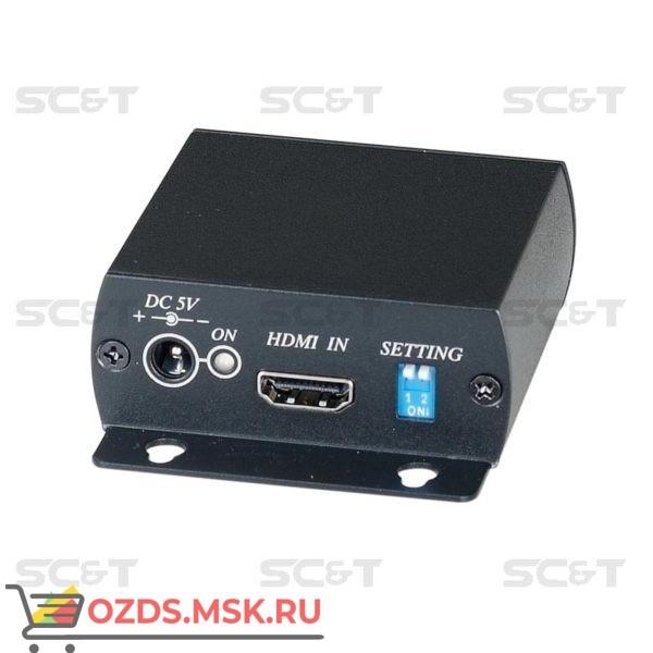 HE01ST: Передатчик HDMI сигнала по одному кабелю витой пары