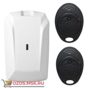 Астра-Р РК тревожная кнопка, комплект: РПУ + 2 брелока (РПД), 433,92 МГц, 150м, 1 силовое реле