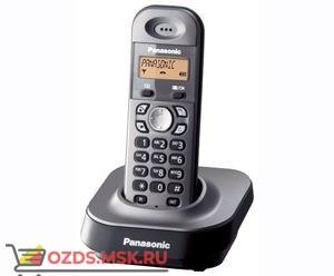 Panasonic KX-TG1411RUM-, цвет серый металлик: Беспроводной телефон DECT (радиотелефон)