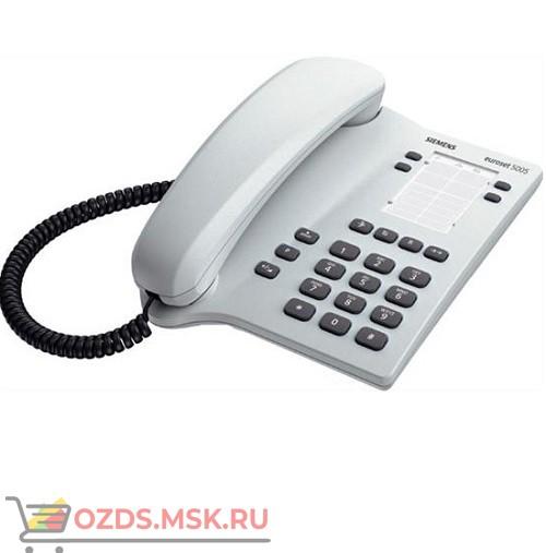Euroset 5005 arctic grey Siemens, цвет светло-серый: Проводной телефон