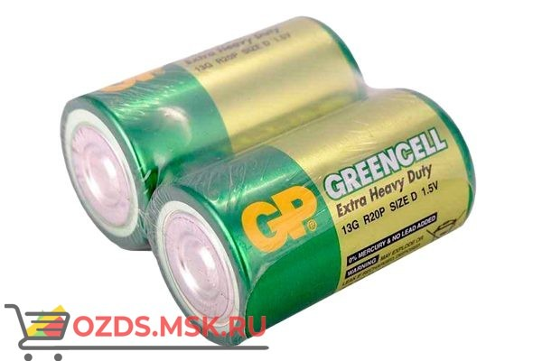 GP Greencell 13G-OS2 20200 батарейка солевая