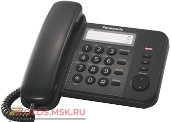 Panasonic KX-TS2352RUB проводной телефон, цвет черный: Проводной телефон