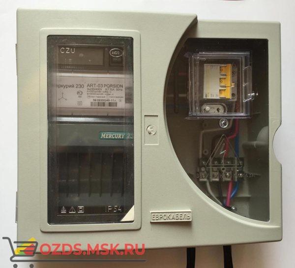 Учет электричества Щит учета 3Ф 50А с GPRS