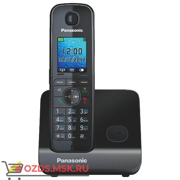 Panasonic KX-TG8151RUB-, цвет черный: Беспроводной телефон DECT (радиотелефон)