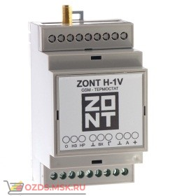 ZONT H-1V GSM-контроллер на DIN рейку управление котлом и бойлером с поддержкой OpenTherm