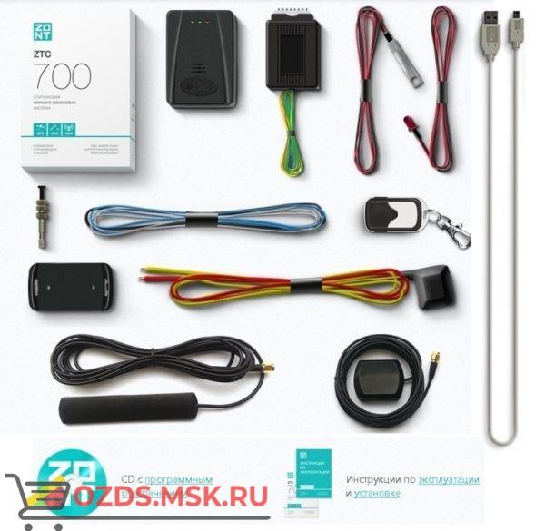 ZONT ZTC-700 Спутниковая охранно-поисковая система с GPS и GSM (автомобильный трекер, сигнализация)