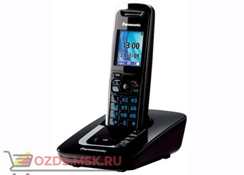 Panasonic KX-TG8411RUB-, цвет черный: Беспроводной телефон DECT (радиотелефон)