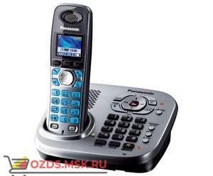 Panasonic KX-TG8041RUM-с автоответчиком, цвет серый мета: Беспроводной телефон DECT (радиотелефон)
